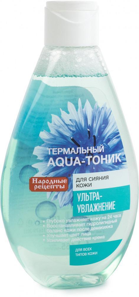 Термальный аква-тоник для сияния ультра-увлажняющий Народный рецепт