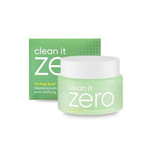 Banila co Clean It Zero Cleansing Balm (Pore Clarifying) 100ml. Очищающий крем-щербет с содержанием трёх видов
