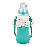 Бутылочка для кормления 230 мл МЕНТОЛОВАЯ (пластик)