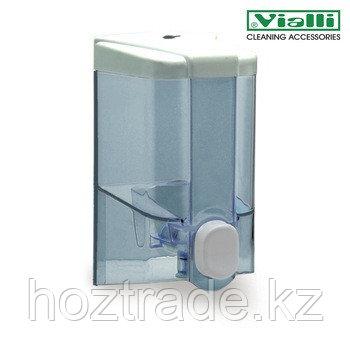 Дозатор для жидкого мыла Vialli 500 мл, прозрачный