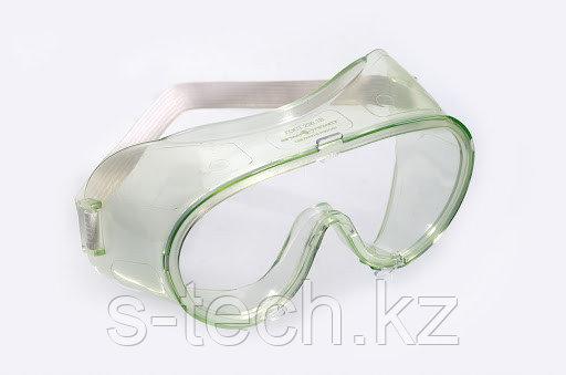 Закрытые очки противочумные