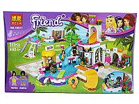 Конструктор Bela Friends Летний бассейн 10611 (Аналог Lego Friends 41313) 593 дет