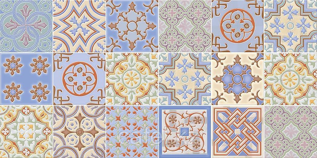 Кафель | Плитка настенная 25х50 Валенсия | Valensia синяя