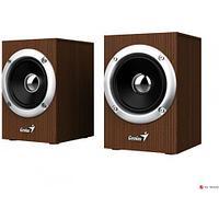 Колонки Genius SP-HF280 Wood, 3W x 2, 4ОМ, 100Hz-20KHz, 1,2 м, 3,5мм 31730028400