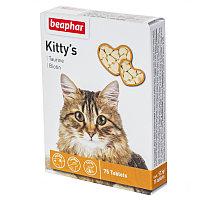 Kittys + Taurin + Biotin 75 т - Витаминное лакомство для кошек с таурином и биотином