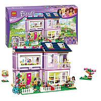 Конструктор Bela Friends Дом Эммы 10541 (Аналог Lego Friends 41095) 731 дет