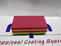 Шлифовальный брусок 3-х цветный 135 х 70 х 47 мм