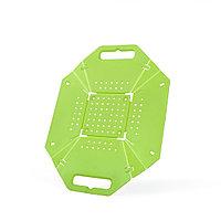 Разделочная доска-трансформер 26x22 см 2-в-1 (пластик)