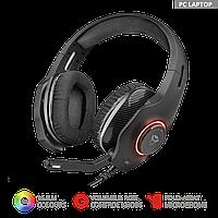 Наушники гарнитура игровая Trust GXT 455 Torus RGB с подсветкой