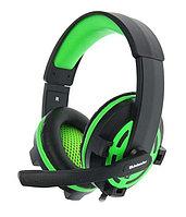 Наушники-гарнитура игровые Defender Warhead G-300 зеленый