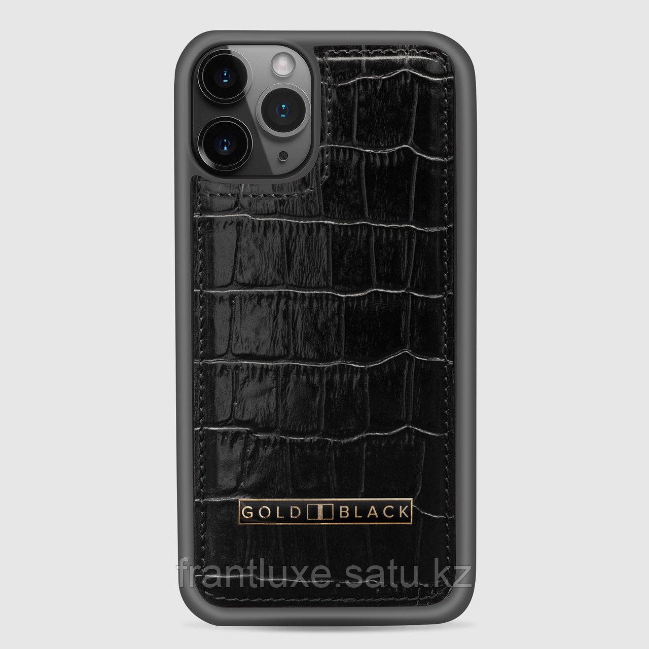 Чехол для телефона iPhone 11 Pro Black - фото 1