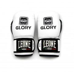 Боксерские перчатки Leone Glory 10oz белый