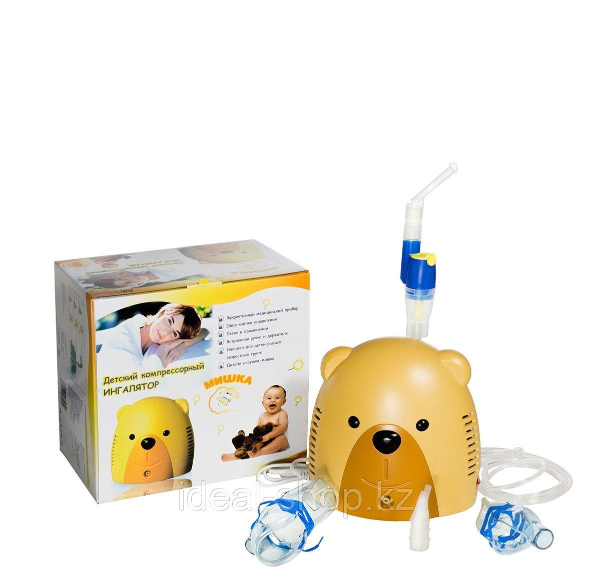 Компрессорный ингалятор Мишка p3 Med 2000.без сумки - фото 2