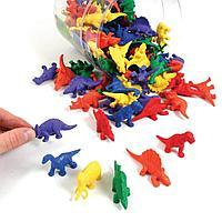 LER0710 Игровой набор фигурок  Динозавры 108 элементов,3+