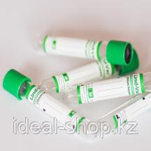 Пробирки вакуумные с наполнителем натрий гепарин Lind-Vac