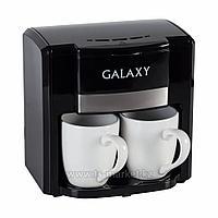 Кофеварка Galaxy GL 0708 (белая)