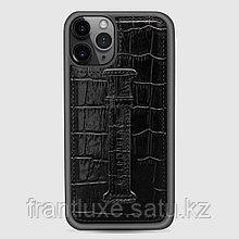 Чехол для телефона iPhone 11 Pro Finger-holder Black
