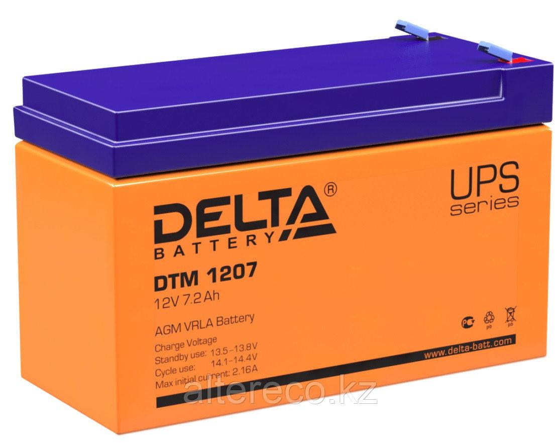 Аккумулятор Delta DTM 1207 (12В, 7,2Ач)