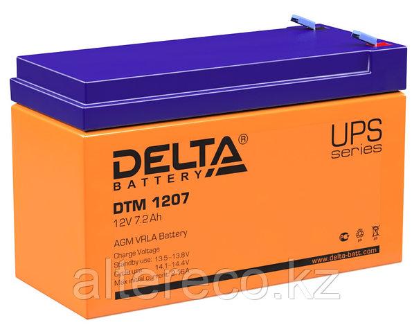 Аккумулятор Delta DTM 1207 (12В, 7,2Ач), фото 2