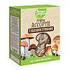 Грибы сушеные ЛЕСНЫЕ УГОДЬЯ Ассорти (с белыми грибами) 45 гр