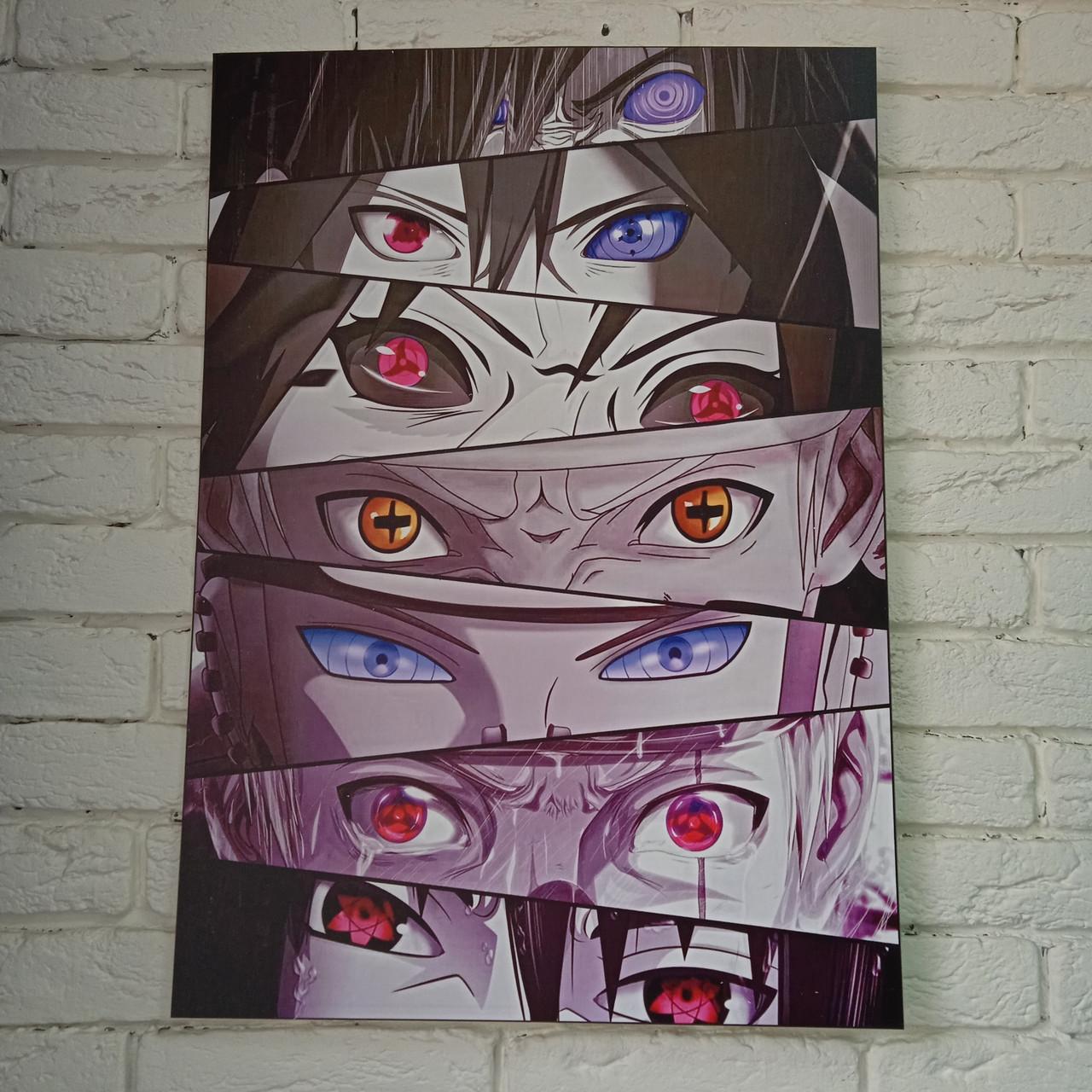 Постер Наруто (глаза)