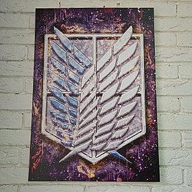 Постер Разведкорпус - Атака Титанов