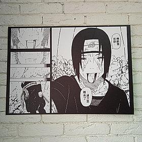 Постер Итачи - Наруто (грустный)