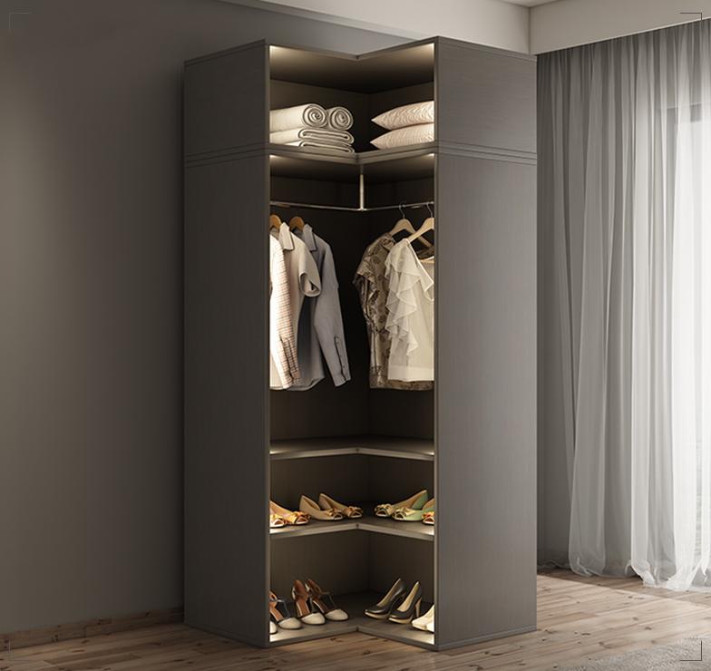 Шкаф угловой для гардеробной