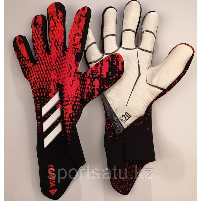 Вратарские перчатки Adidas Predator red