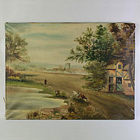 «Деревенский пейзаж» Автор E. Pauwels