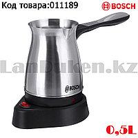 Турка для варки кофе электрическая из нержавеющей стали со съемной ручкой 500 мл