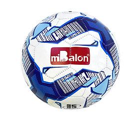 """Мяч футбольный """"miBalon"""" (бело-синий)"""