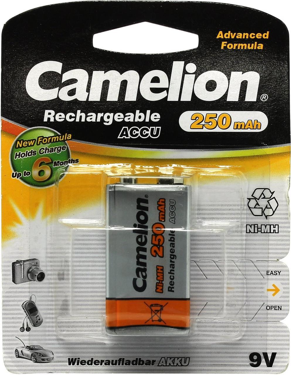 Аккум. батарейка Camelion NH-9V250BP1-Крона
