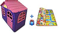 Детский игровой домик Doloni розово/фиолетовый 02550\10