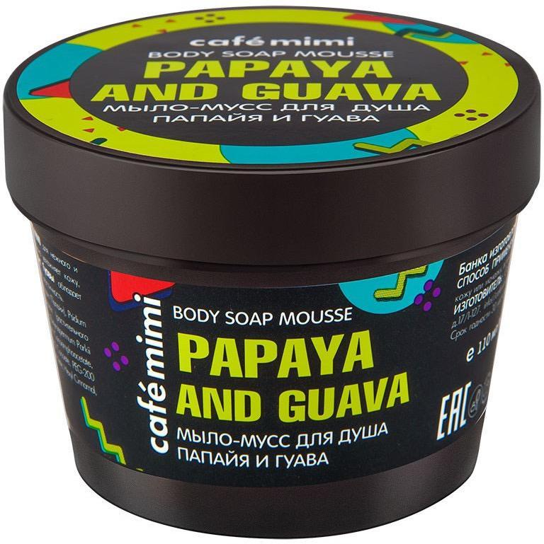 Мыло-мусс для душа папайя и гуава