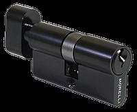 Цилиндр с поворотной ручкой Morelli 60CK BL черный