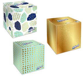 SELPAK Салфетки в коробке 48 листов