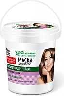 Маска для волос питательная репейная