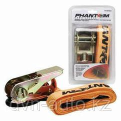 Ремень крепления груза 2,5м с натяжителем PHANTOM PH6422