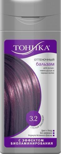 Бальзам для волос оттеночный, оттенок 3.2 Баклажан