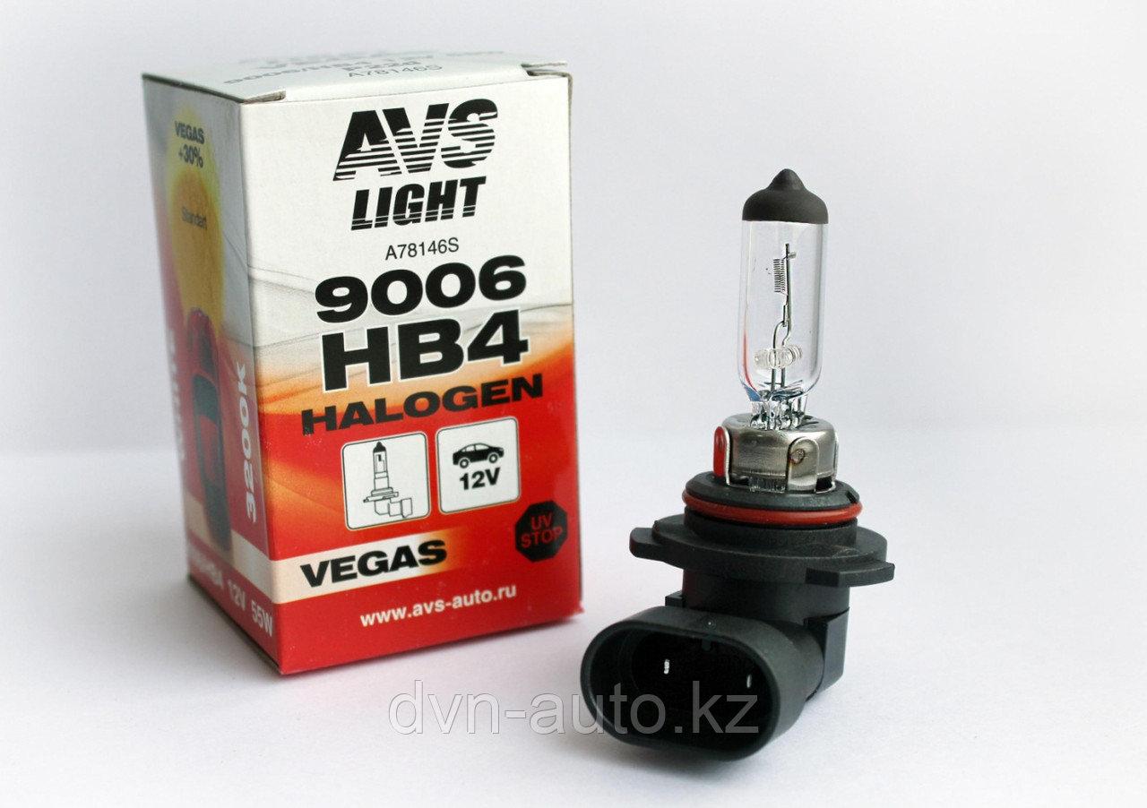 Галогенная лампа AVS Vegas HB4/9006.12V.51W.1шт.