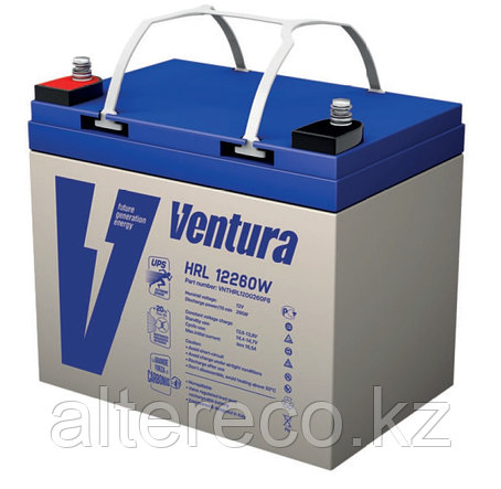 Аккумулятор Ventura HRL12260W (12В, 55Ач), фото 2