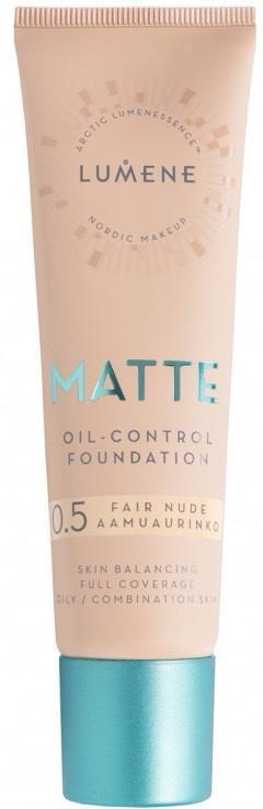 Крем тональный для лица «Matte», оттенок 0,5-3512 Натуральный