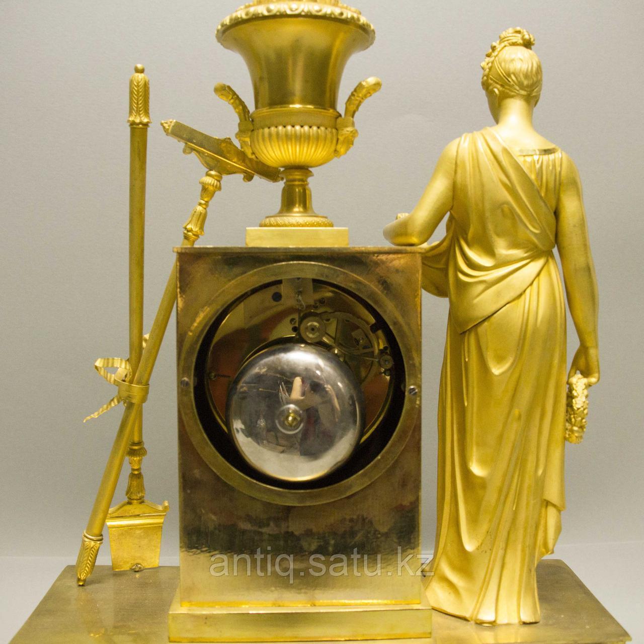 «Церера богиня урожая и плодородия» Каминные часы в стиле Ампир - фото 8