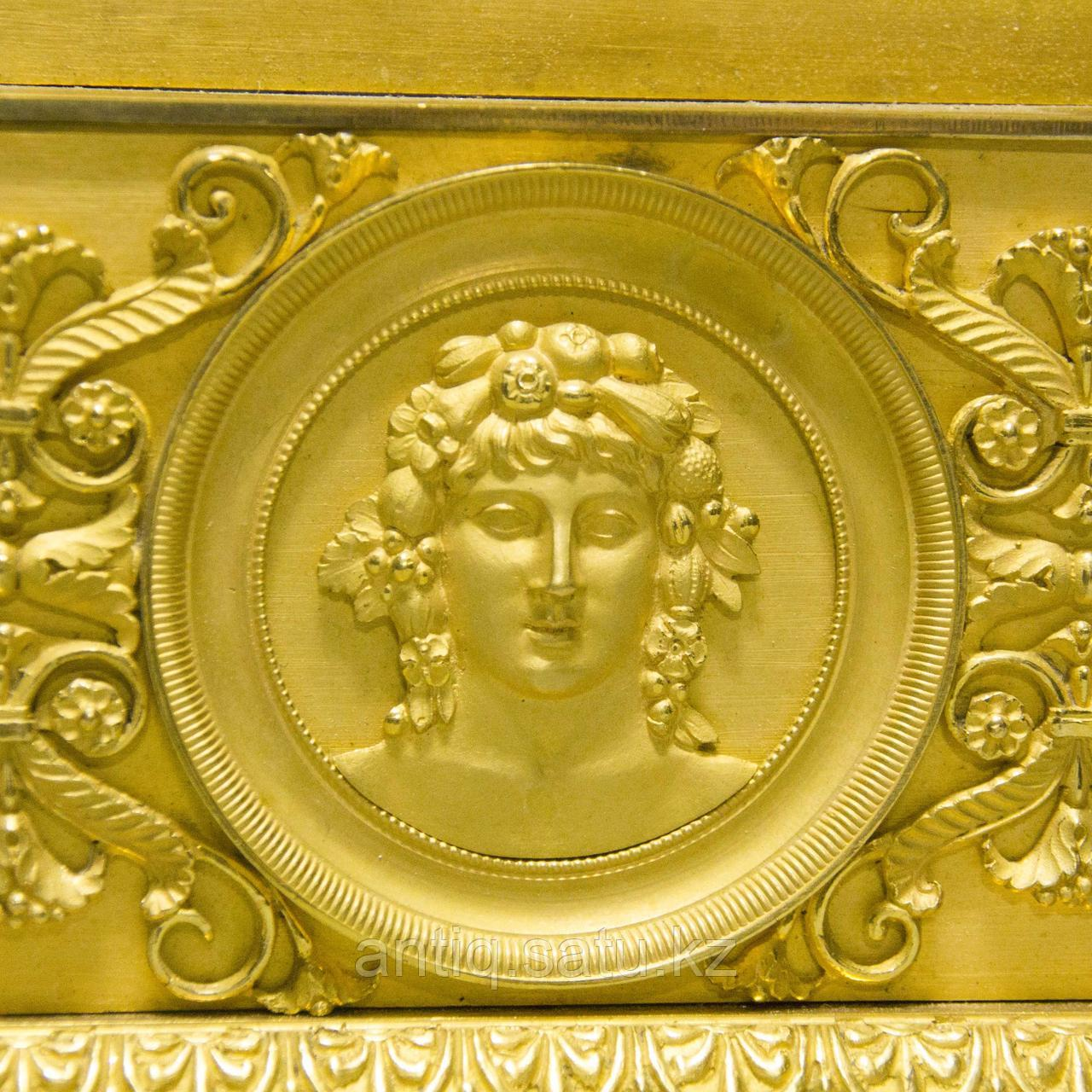 «Церера богиня урожая и плодородия» Каминные часы в стиле Ампир - фото 7