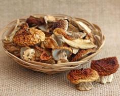 Сушеные грибы Лесные угодья