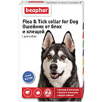 FLC Dog (Diaz Dog) – Ошейник от блох и клещей для собак синий, 65 см