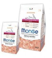 Monge Dog Extra Small Adult Salmone&Rice,сухой корм для взрослых собак миниатюрных пород с лососем и