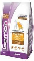 Gemon Dog Medium Adult,сухой корм для средних пород собак с курицей,уп.15 кг.