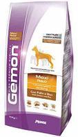 Gemon Dog Maxi Adult,сухой корм для крупных пород собак с курицей и рисом,уп.15 кг.